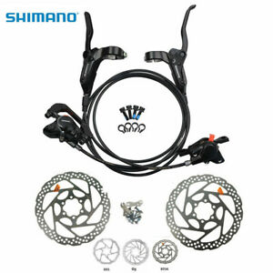 New SHIMANO Acera M395 MTB Hydraulic Disc Brake Set W//Rotors A Pair G3//HS1