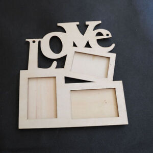 Sweet-Wooden-Hollow-Love-Photo-Picture-Frame-Family-Home-Decor-Art-DIY-Gifts