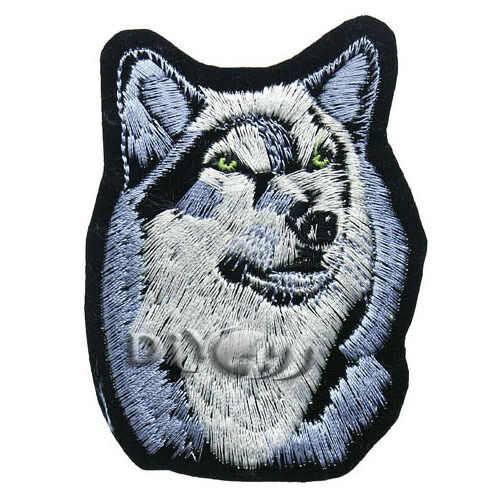 Husky Dog Patch Lover Sewing Crfts Apparel Iron on Applique 1or 5 or10pcs