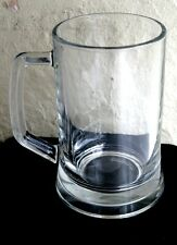NEW - Vintage Heavy PASABAHCE Pint Beer Lager Juice - GLASS TANKARD