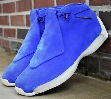 magasin d'usine 19866 7b443 Men's Nike Air Jordan 18 Retro Basketball Shoe Racer Blue Aa2494 401 Size 11