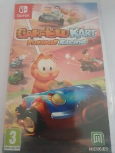 GARFIELD KART FURIOUS RACING SWITCH _ MULTILINGUE DONT FRANCAIS _ NEUF CELLO