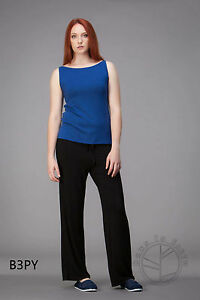 NEW-BLACK-BAMBOO-DOWN-TO-EARTH-LOUNGE-PANTS-SIZE-10