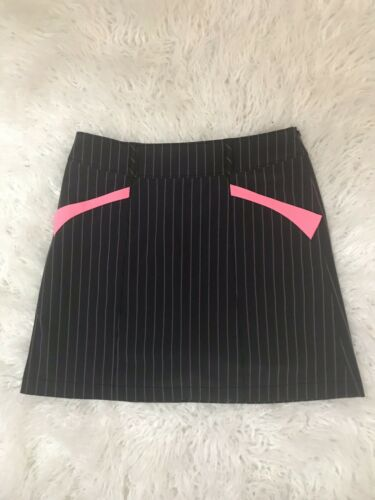 Cutter & Buck Annika Striped Mini Skirt Size 6