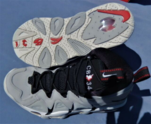 71096aa626d NEW NIKE MENS AIR MAX CB34 CHARLES BARKLEY MULTIPLE SIZES GRAY 414243-003  AIRMAX