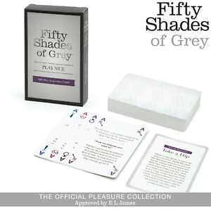 Fifty Shades of Grey Play Nice Card Couple Games Carte Giochi di Coppia Ruolo