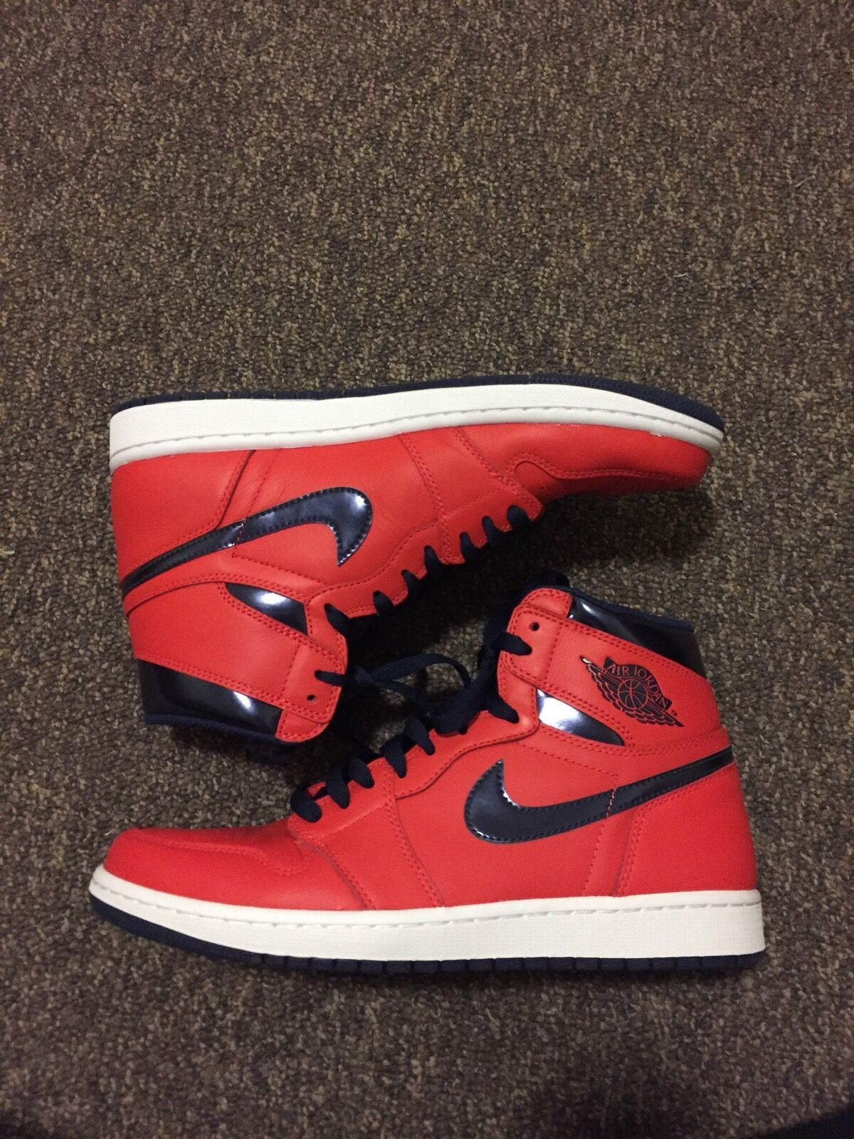 Nike Air Jordan 1 Letterman Sz 10