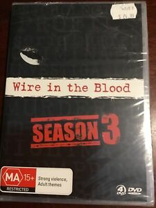 WIRE-IN-THE-BLOOD-Season-Three-New-Sealed-4-DVDs-R4-PAL