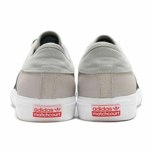 Totalmente Nuevo Para Hombres Adidas matchcourt Gris BY3985 Zapatillas Uk Size 4