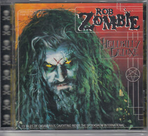ROB-ZOMBIE-HELLBILLY-DELUXE-1998-GEFFEN-USA-RARE-PRESSING-CD