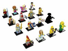 LEGO Series 17 COMPLETE SET OF 16 MINIFIGURES 71018 Highwayman Mystery PRE-ORDER
