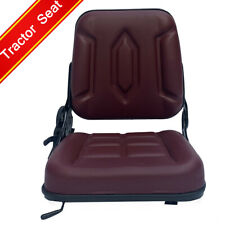 Lawn Mower Tractor Seat Garden Tractor Slidable Seat With Back Rest For Utv Atv