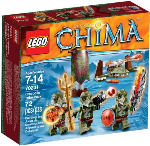 LEGO Chima Neu /& OVP 70231 Krokodilstamm BattlePack