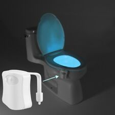 Baytek 8-Color Motion Activated Toilet Nightlight (Fits ANY Toilet)