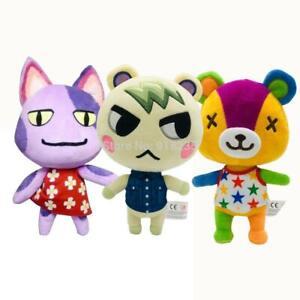 "New Animal Crossing Stitches Judy Raymond Marshal Plush Toy Doll Figure Gift 8/"""