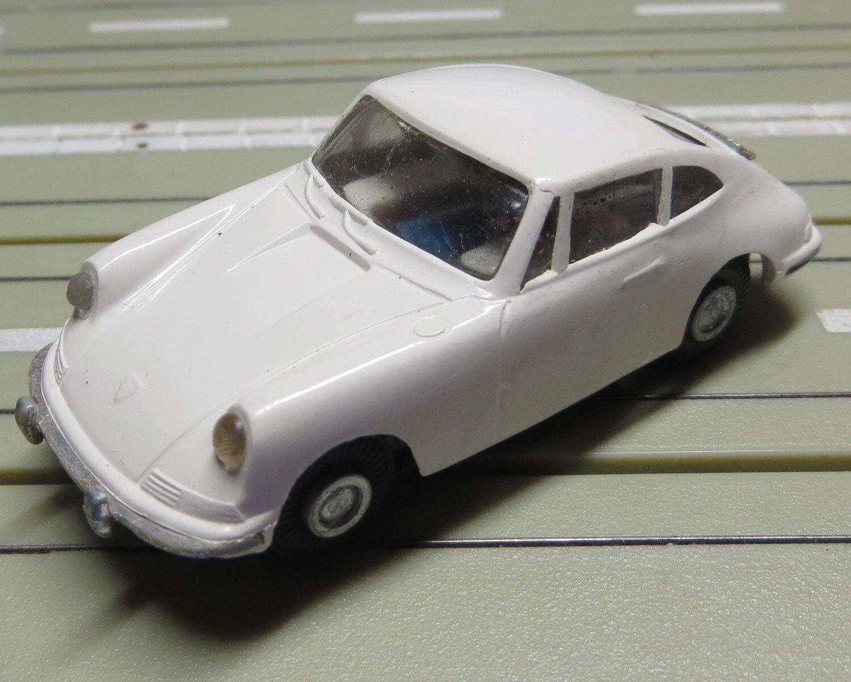 Faller Ams Porsche 911 con Motore di Blocco + 4 Nuovo Repro Ruote