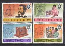 Lesotho 1976 Telefono/Persone/a G Bell 4v Set (n25043)