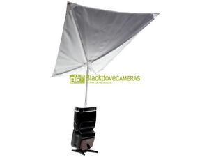 Minolta ombrellino diffusore per flash 3500xi con supporto e custodia.