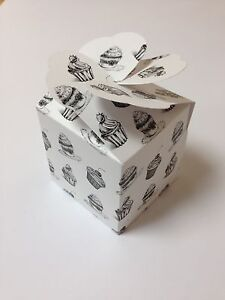 LARGE-cup-cake-muffin-boxes-wedding-favour-heart-lid-pack-x10-sweet-box-printed