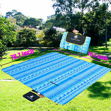 Large 78*78inch Premium Foldable Outdoor Waterproof Camping Picnic Beach Blanket