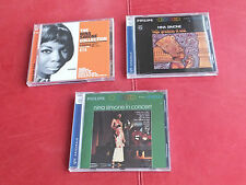 3 x CD's  Nina Simone - High Priestess Of Soul / In Concert / Collection Colpix