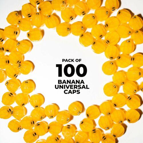 MTN Banana Universal Tapas 100 Paquete