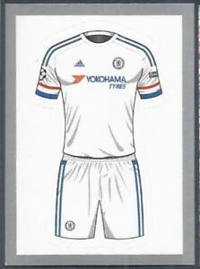 online store 8a769 7cfa1 Details about TOPPS CHAMPIONS LEAGUE-2015-16 #438-CHELSEA-AWAY KIT