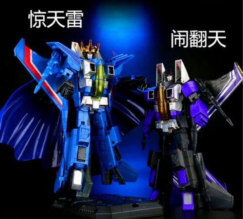 Transformational toy Thundercracker Starscream Skywarp gift