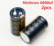 2pcs Nichicon CE 85°C KG(M) Gold Tune 6800uf 35v audio ELECTROLYTIC Capacitor