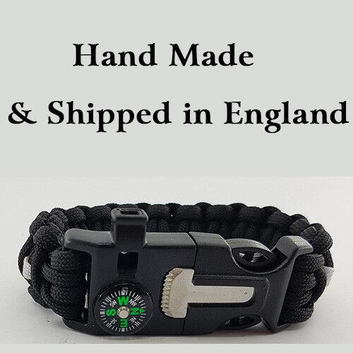 HM Prison Service Badged Survival Bracelet Tactical Edge.
