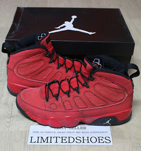 300e52afcfb NIKE AIR JORDAN 9 IX RETRO MOTORBOAT JONES RED 302370-645 US 11 SIZE ...