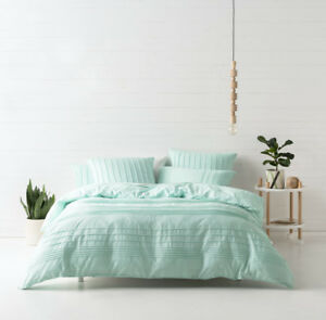 Deco-by-Linen-House-Cameron-Aqua-Single-Double-Queen-King-Quilt-Cover-Set-NEW