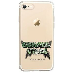 Coque Iphone 7 8 SE 2020 summer vibes jungle personnalisee