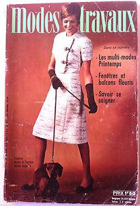 Mode-amp-Travaux-du-4-1971-Page-poupees-Marie-Francoise-et-Jean-Michel