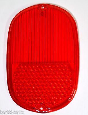 Vintage VW TYPE2 BUS 1962–1971 VOLKSWAGEN Red Rear Tail Lamp Lens
