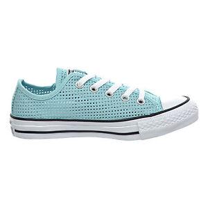 Women-039-s-Converse-All-Star-Perf-Sneaker-Motel-Pool-Blk-Wht-551623F-Sz-7-5-10