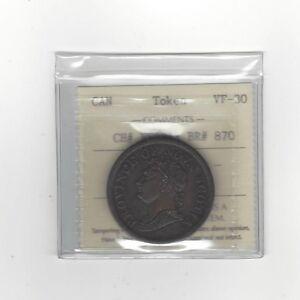 Canada-Token-NS2B1-Breton-870-ICCS-Graded-VF-30-Penny-Token