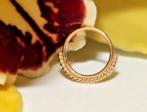 14k-Yellow-Solid-Gold-Seamless-Ring-Piercing-with-One-Sided-Filigree-18g-5-16