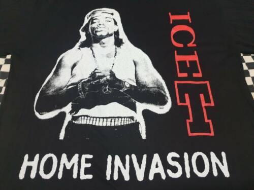 RARE Vintage  Ice-T  Rap Tee Hip hop  Bootleg T sh