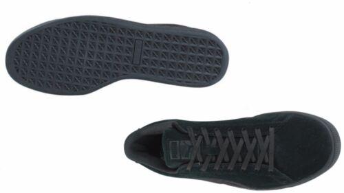 Puma Men/'s  SUEDE CLASSIC BADGE  BLACK 362594-01