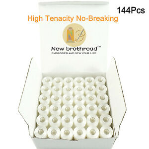 New-brothread-144pcs-Embroidery-Bobbin-Thread-for-Embroidery-and-Sewing-Machine