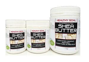Certified-Organic-SHEA-NUT-BUTTER-Cosmetic-Grade-100-Pure-amp-Refined