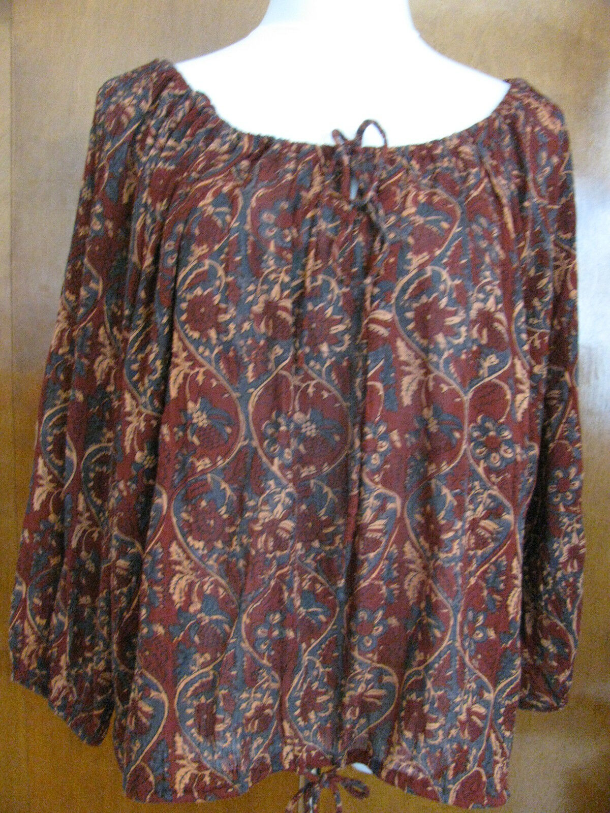 Denim & Supply by Ralph Lauren women's cotton viscose colord top Size L XL NWT