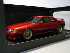 ignition 1/18 IG0143 NISMO R32 GT-R S-tune Red Pearl MetallicNISSAN SKYLINE  hpi