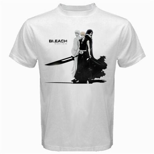 Bleach blade and I Ichigo kurosaki hollow reaper manga anime Tshirt White
