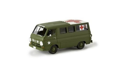 "Army//Ambulance/"" TD-NUOVO Brekina 34311-1//87 DODGE a 100 Bus /""U.S"