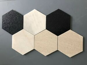 Marble-Large-200mm-x-200mm-Hexagon-Floor-Wall-Tiles-Only-135-00-m2