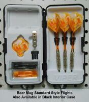Fat Cat 20 Gm Steel Tip Dart Set With Choice Of I Luv Beer Flights