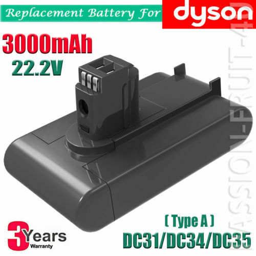 3000mAh Battery For Dyson 22.2V volt DC31 DC34 DC35 DC45 Type A Vacuum Cleaner
