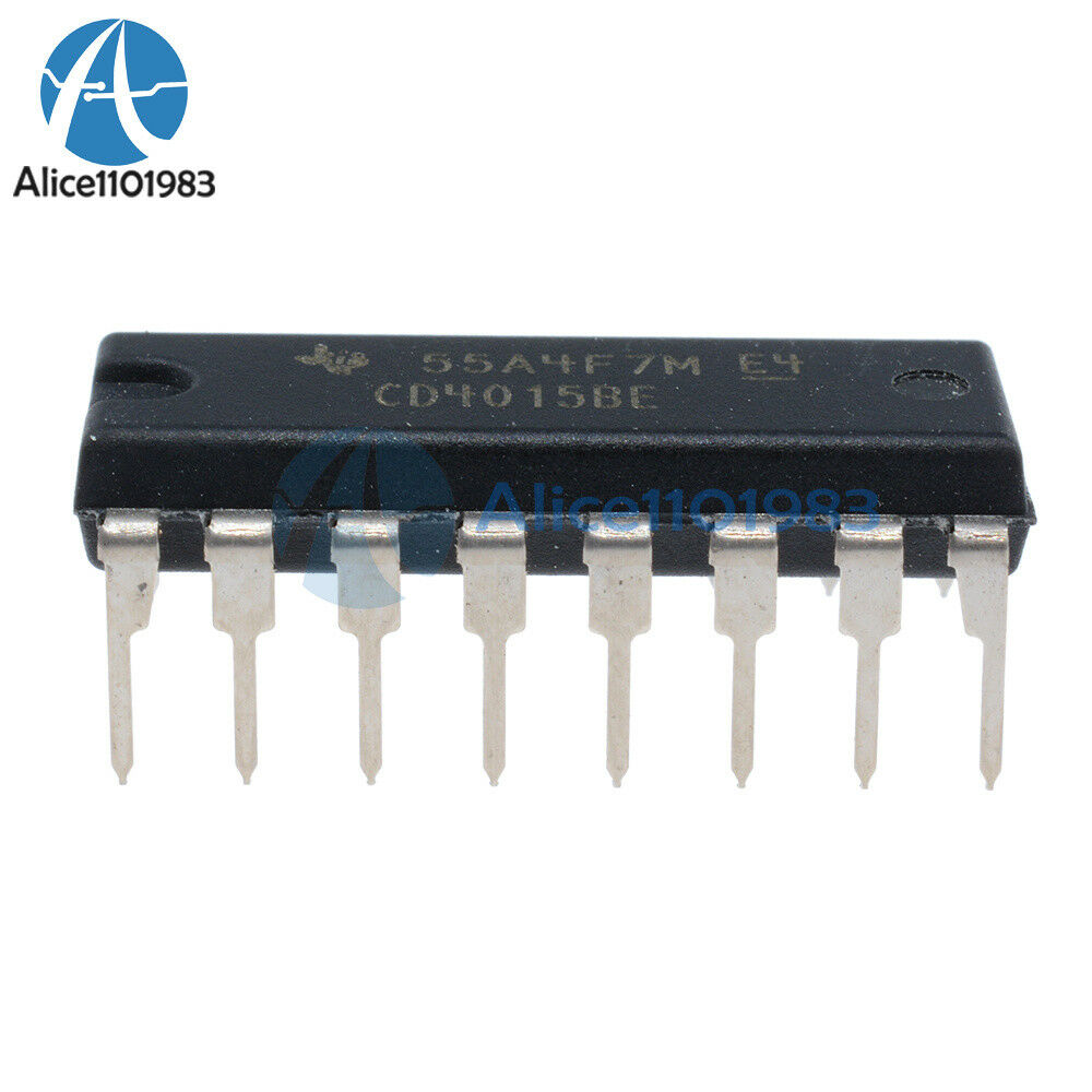 CMOS 4015 dual 4-stage Static shift register cd4015 hcf4015 be 008720